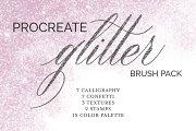 Bright Glitter Brush Pack -Procreate