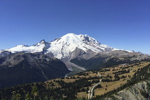 Mt. Rainier in September
