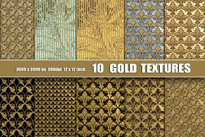 Gold Black Texture Backgrounds
