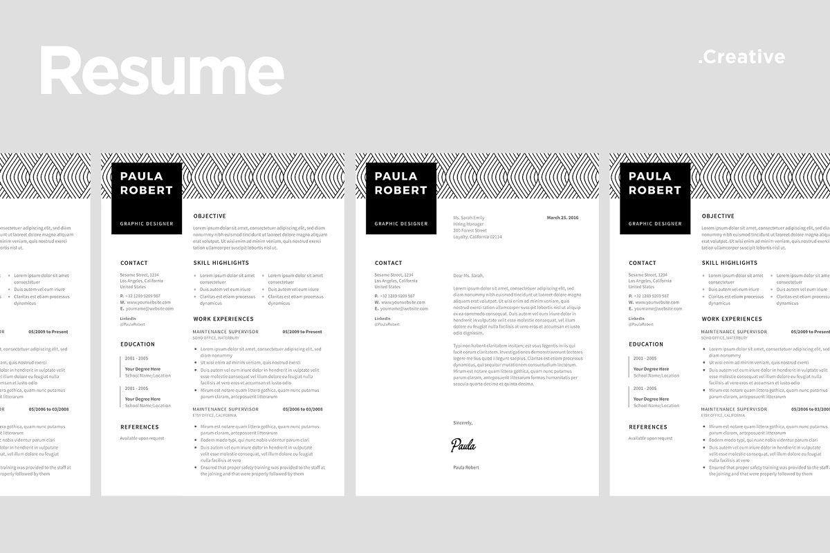 Creative Resume Template 10