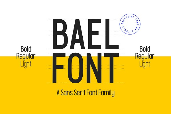 BAEL FONT FAMILY