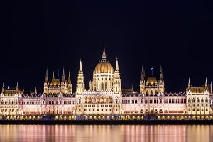 Building of the Budapest Parlament
