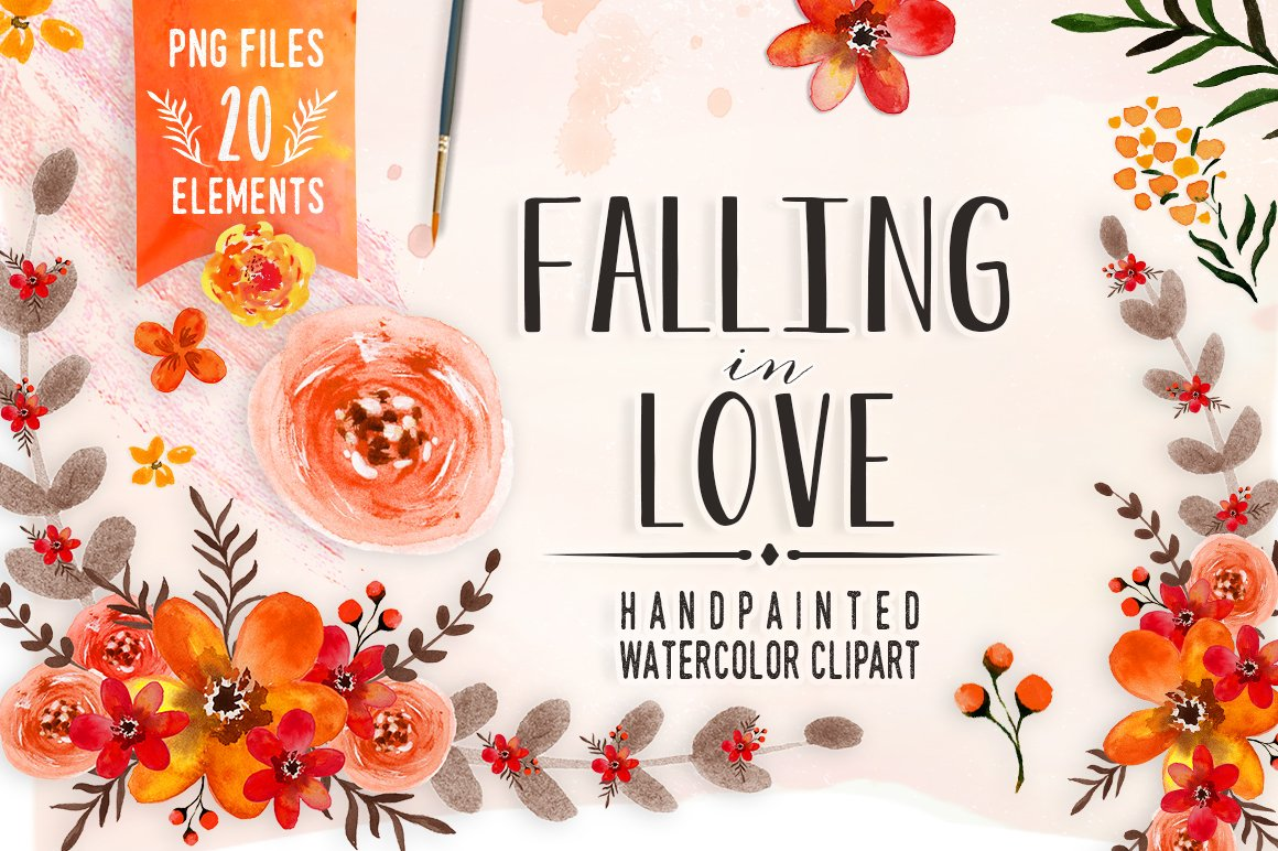 Watercolor flowers png clipart illustrations on creative market - Watercolor Flowers Png Clipart Illustrations On Creative Market 39