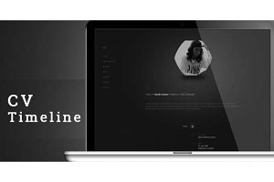 CV Timeline - vCard Resume WordPress