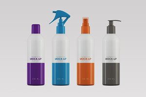 Cosmetics Packaging Mock-up - 200ml