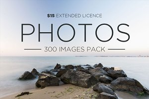 300 Images Pack | Extended Licence