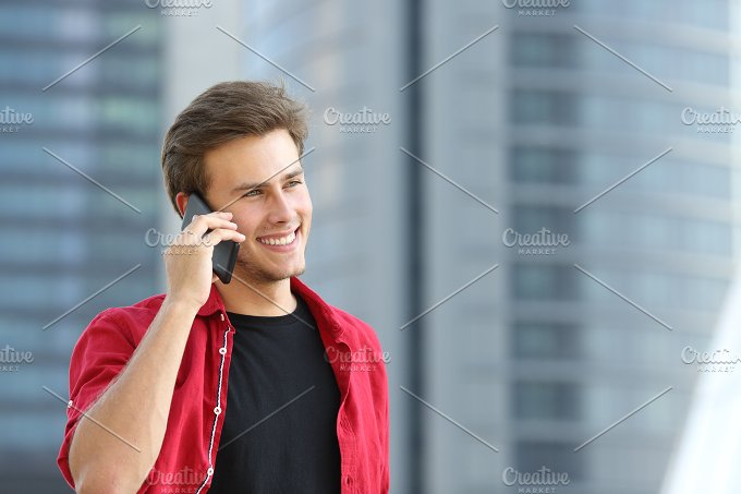 Entrepreneur business man talking on the phone.jpg - Technology