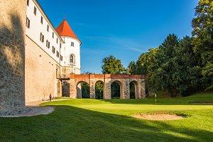 Mokrice castle on a sunny day