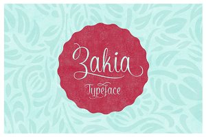 Zakia Typeface