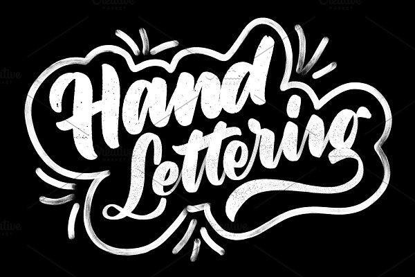 Procreate Lettering Brush Pack 3