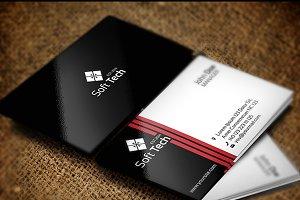 Soft Tech Business Card