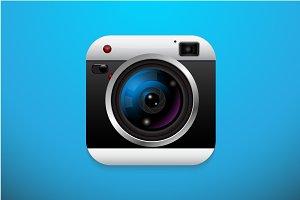 Application camera icon