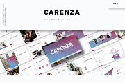 Carenza - Keynote Template