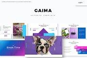 Gaima - Keynote Template