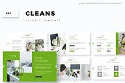 Cleans - Keynote Template