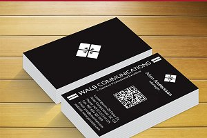 Wals Communication Business Card