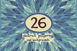 26 abstract patterns and backgrounds