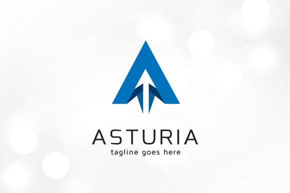 Letter A Logo - Asturia