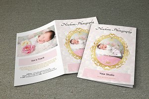 Newborn  Photography template-V171