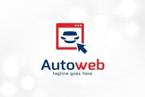 Automotive Web Logo Template