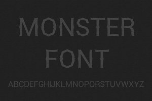 Halloween Monster Font