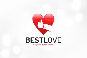 Best Love Logo Template
