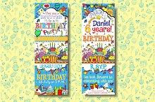 Birthday Pass Invitations design