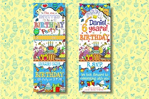 Kids Birthday Pass Invitations