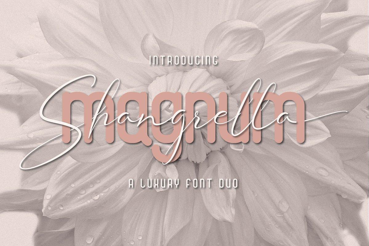 Magnum Shangrella Duo
