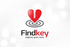 Find Your Key App Logo Template