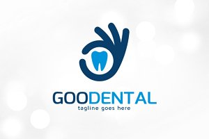 Good Dental Logo Template