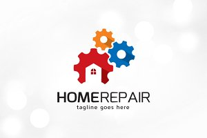Home Repair Logo Template