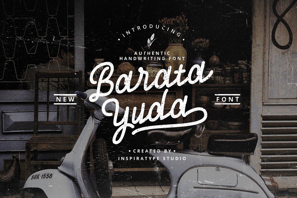 Baratayuda - Authentic Font