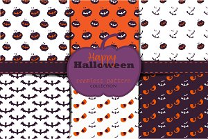 12 Halloween logos and bages
