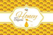 Honey lebel template v1