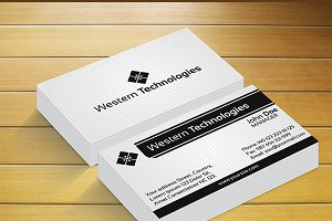 Western Technology Business Card
