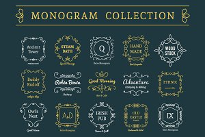 Vintage Monograms Collection