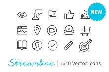 Streamline Essential - 2000 icons
