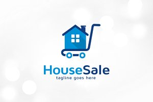 House Sale Logo Template