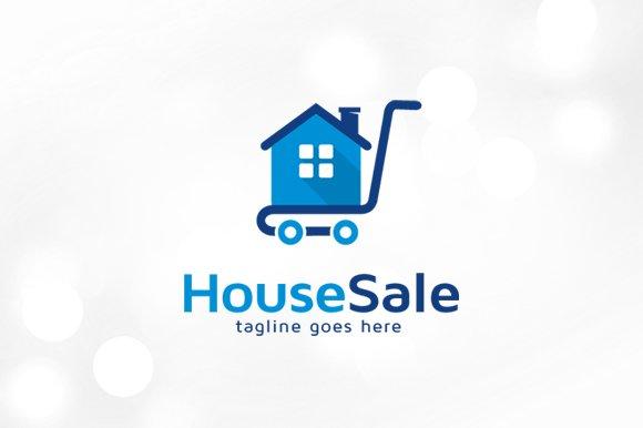 House Sale Logo Template