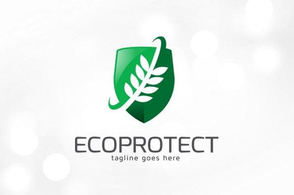 Eco Protect Logo Template