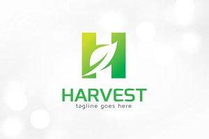 Leaf - Letter H Logo Template