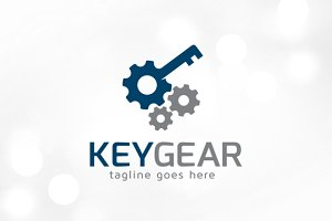 Key Gear Logo Template
