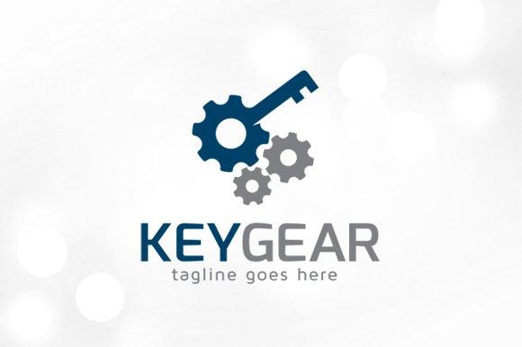 Key Gear Logo Template