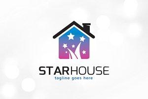 Star House Logo Template