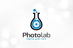 Photo Lab Logo Template