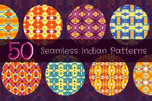 Set of Indian patterns