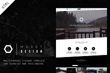 Modet - Responsive One Page Template