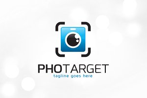 Photo Target Logo Template