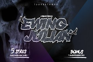 Ewing Julian - Layered Typeface